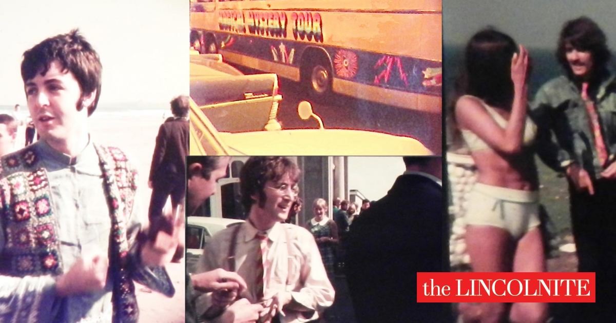76f60abecd40 Unseen Beatles Magical Mystery tour photos up for auction in Lincoln