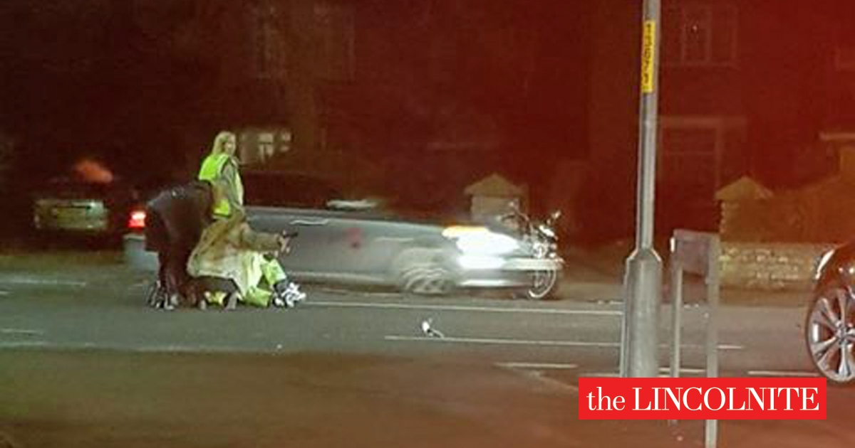Lincoln Biker In Hospital After Serious Crash