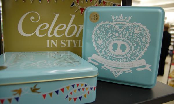 Marks & Spencer Royal Wedding Biscuit Tin