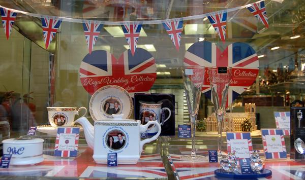 H Samuels Royal Wedding Products