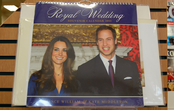 Royal Wedding Calendar