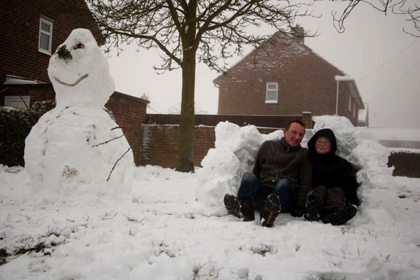Lincoln 39 s snowy weekend your pictures - Sarah dray ...