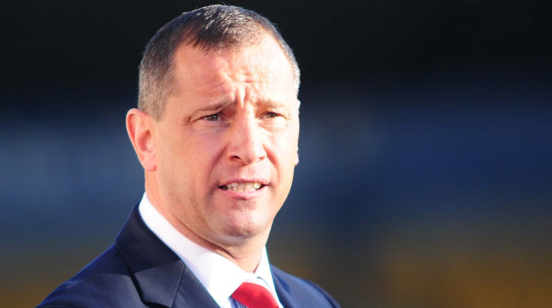 David Holdsworth was the 33rd Imps manager. Photo: Lincoln City FC