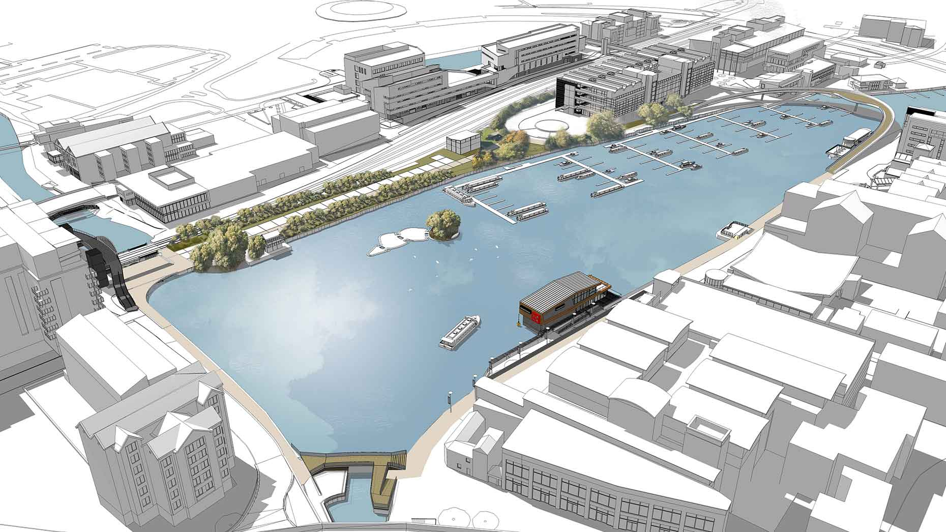 Vision Set Out For Brayford Pool Improvements In Lincoln
