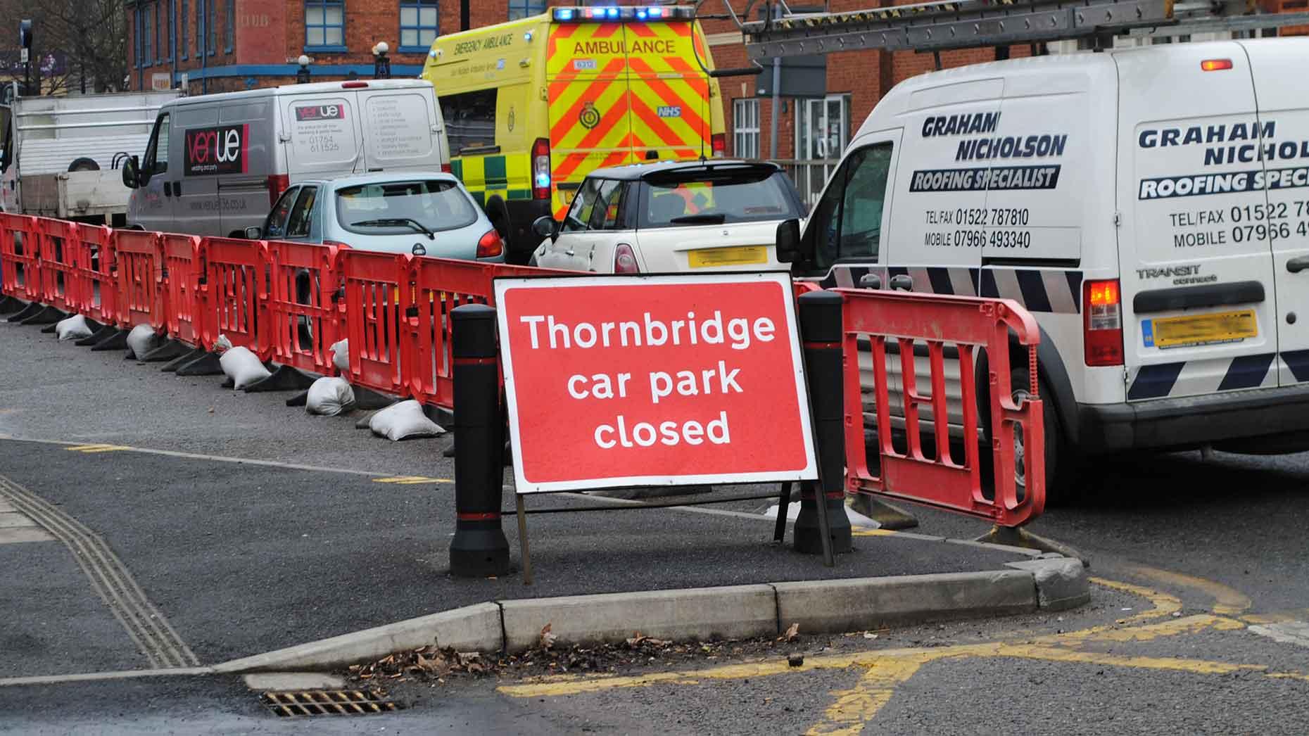 Thornbridge car park
