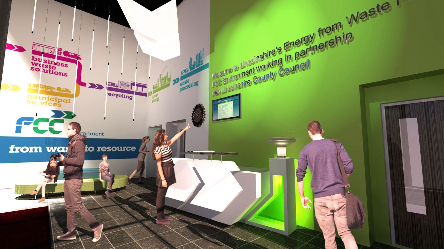 Interior designs picked for lincoln energy from waste plant for Interior design recruitment agencies birmingham