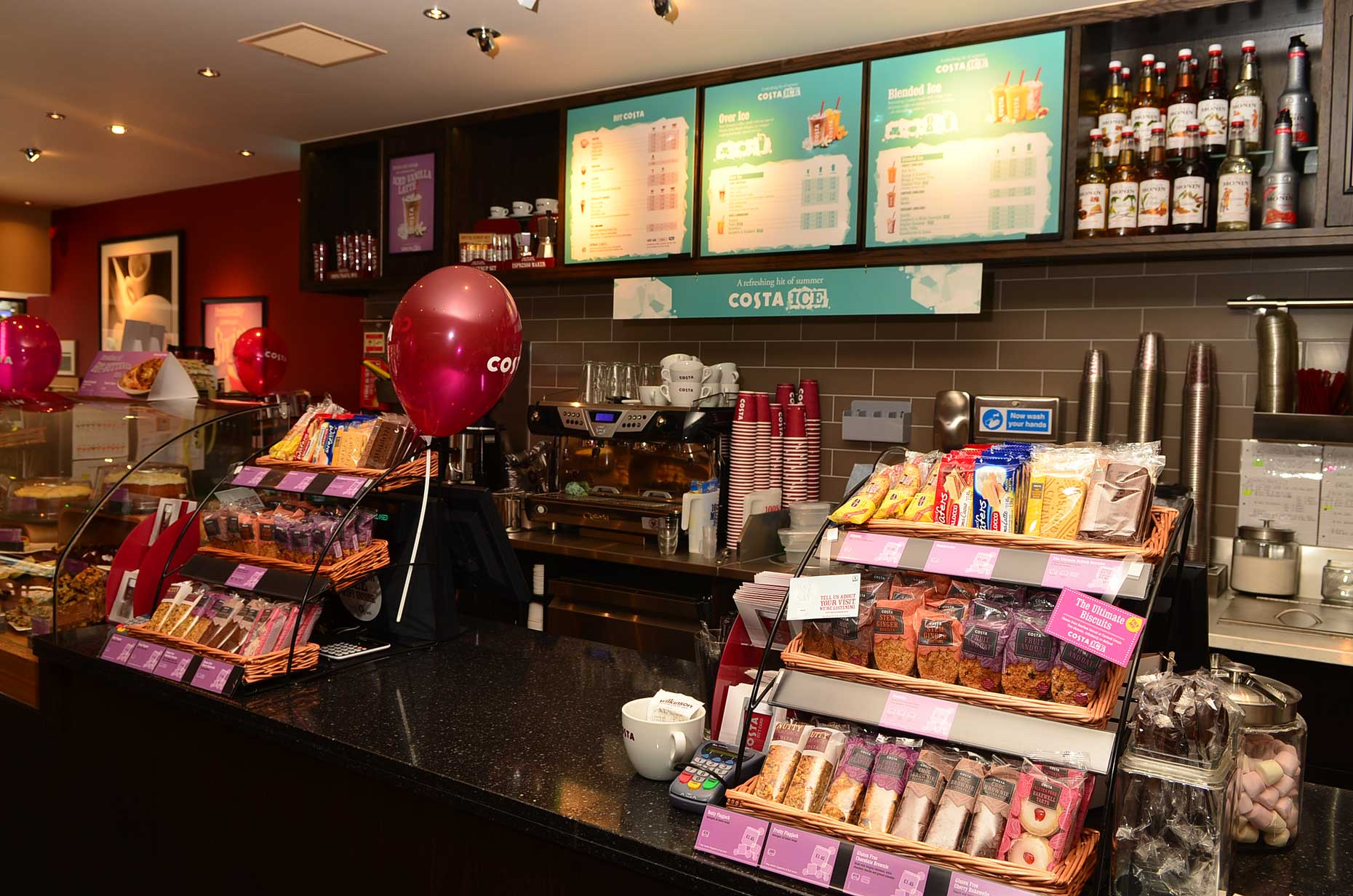 Plans For Seventh Lincoln Costa Coffee At Railway Station