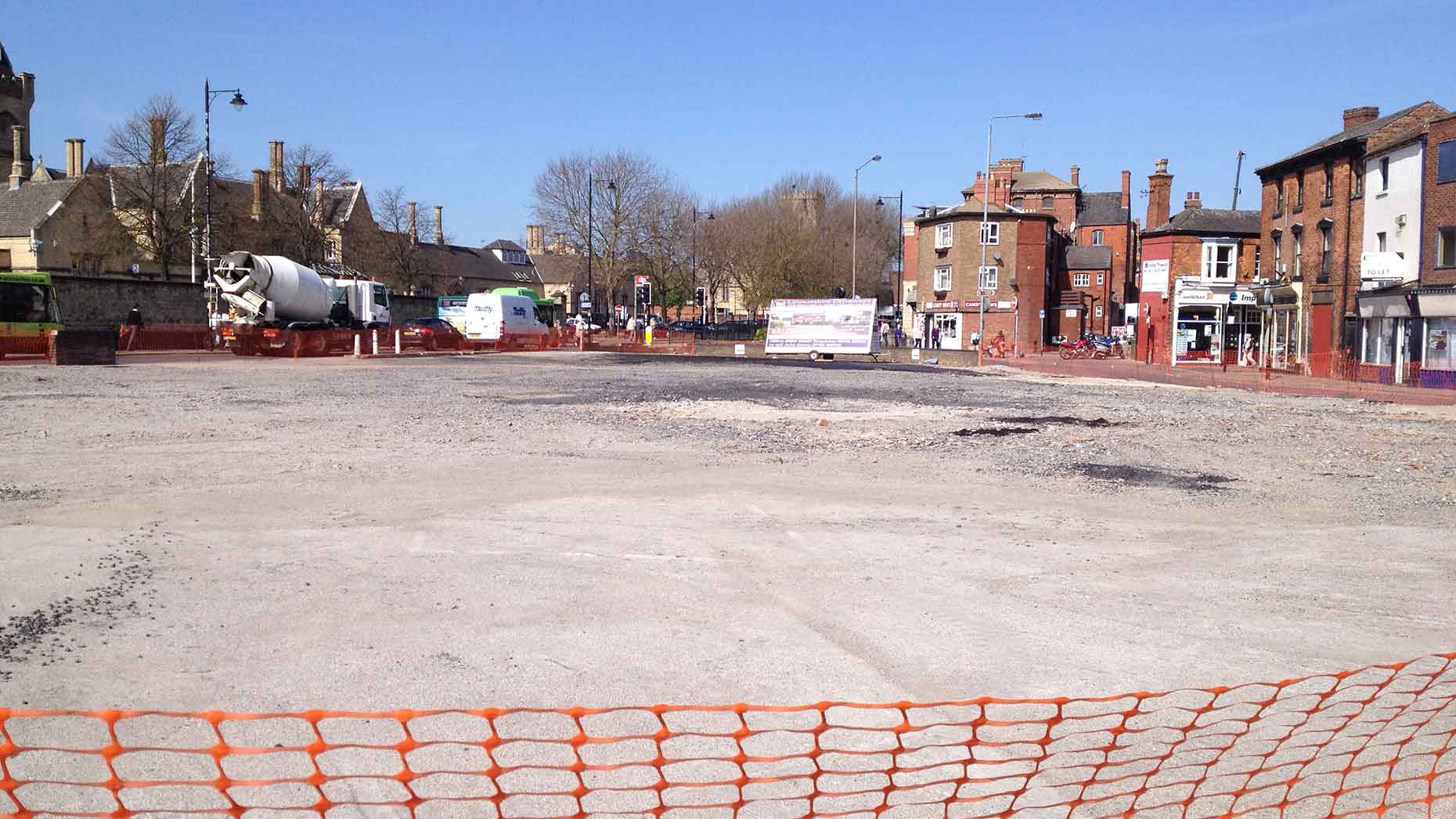 The Grand Hotel in Lincoln was demolished at the beginning of 2013.