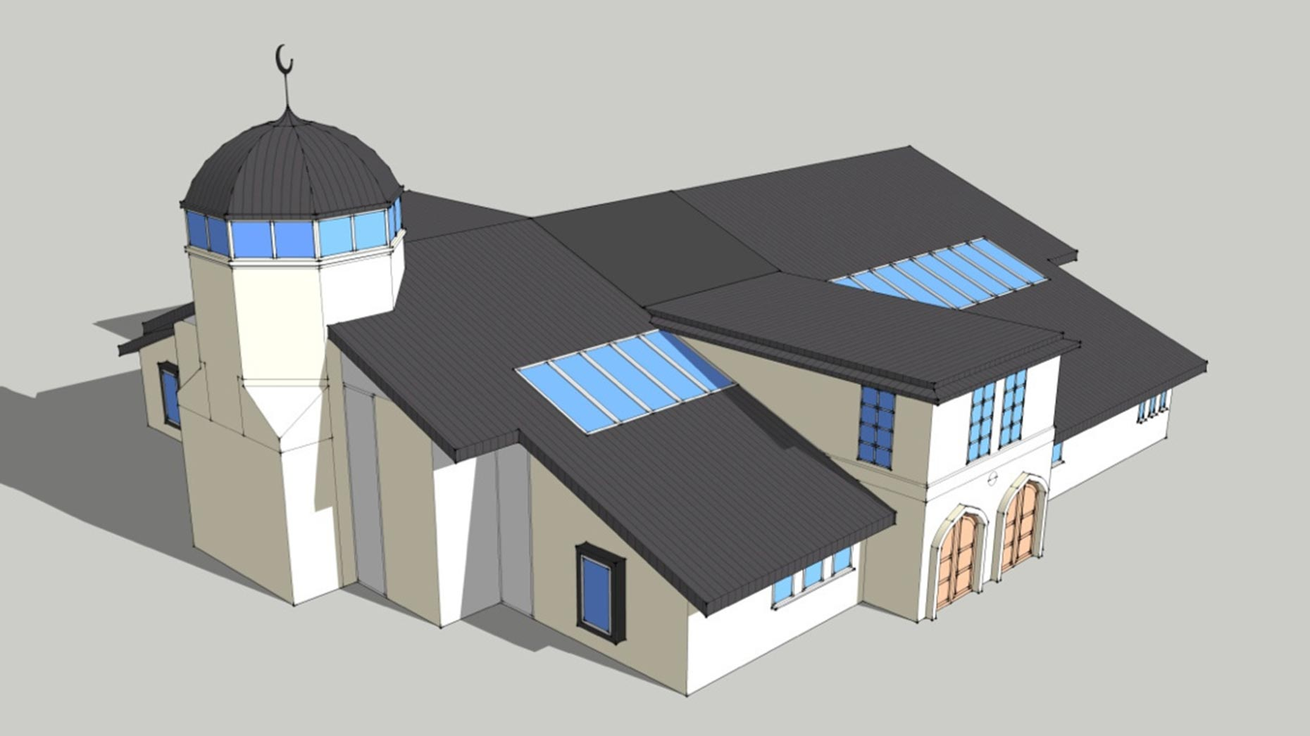 The latest Lincoln mosque designs
