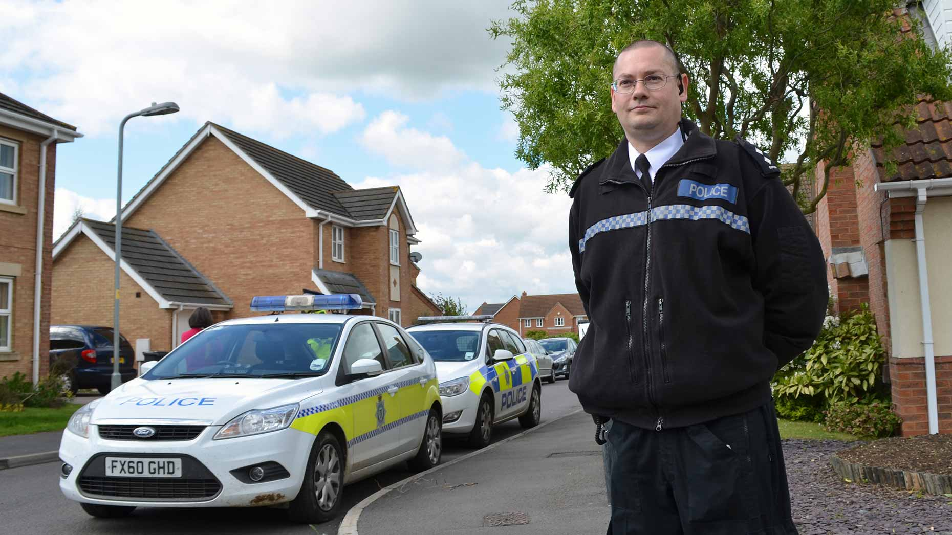 Lincolnshire Police Inspector Simon Outen reassured Saxilby residents.