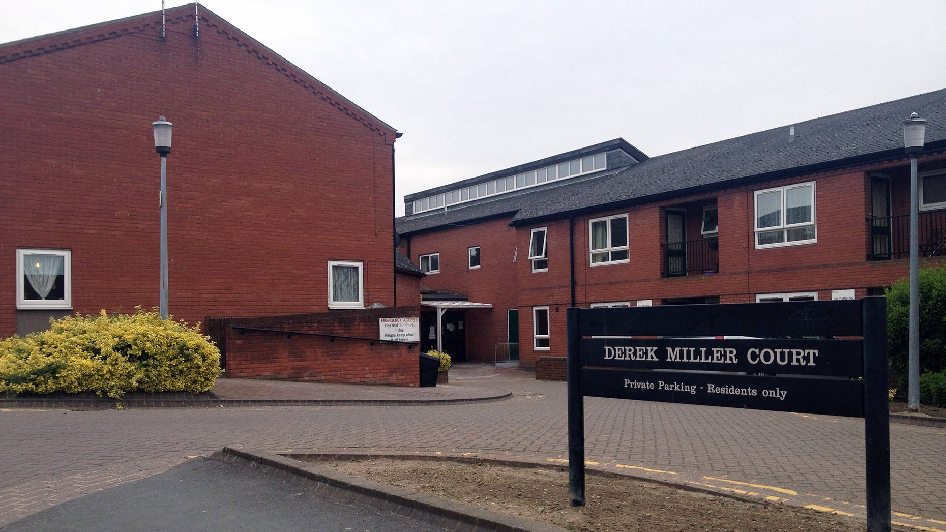 The council's other sheltered accommodation property, Derek Miller Court on Newland Street West, will be left as it currently stands.