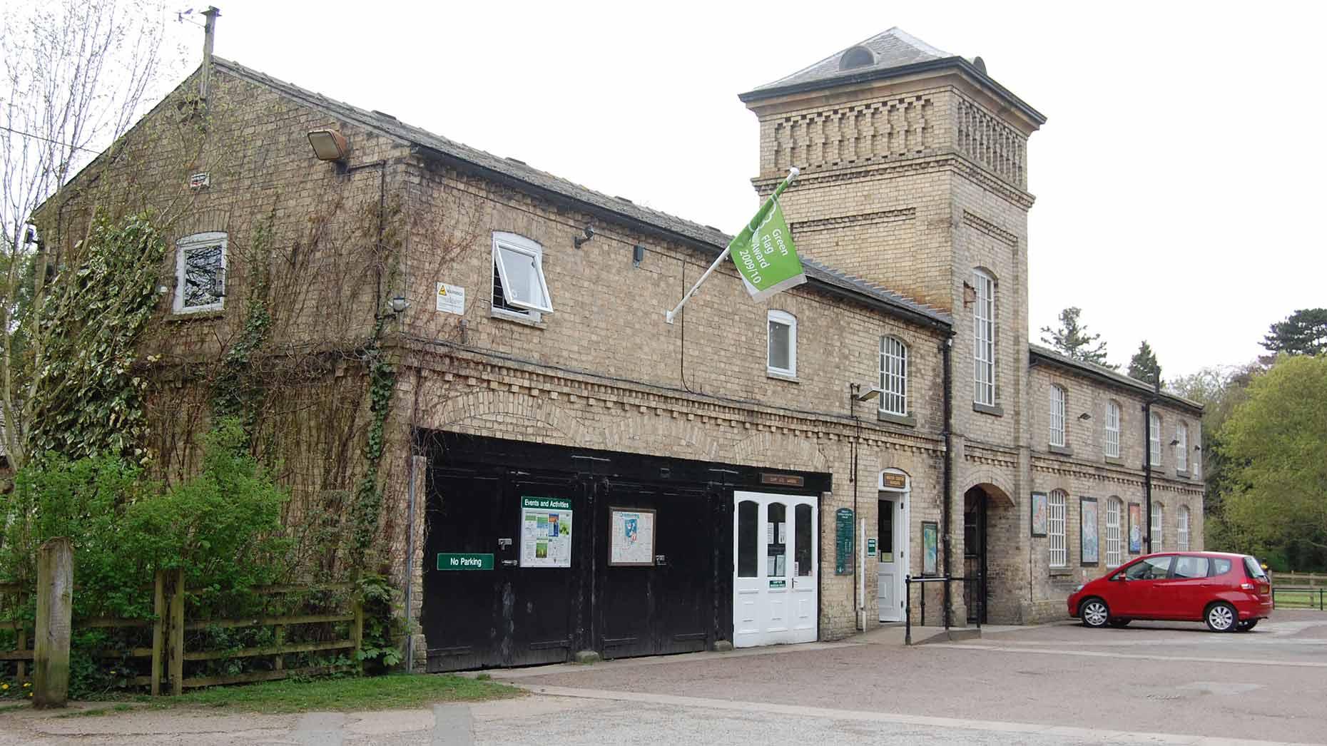 The Green Flag flying at Hartsholme park. Photo: CoLC