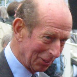 HRH The Duke of Kent.