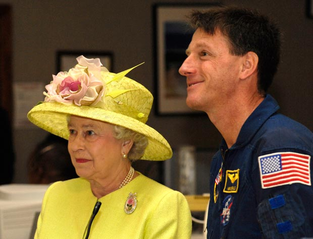 Michael Foale was made a CBE in 2005 for services to space exploration. Photo: NASA