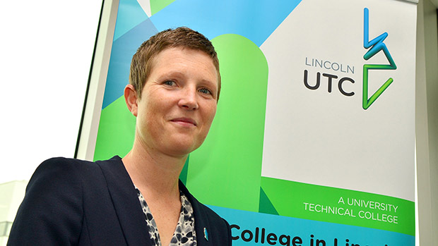 University Technical College Principal Rona Mackenzie. Photo: Steve Smailes for The Lincolnite