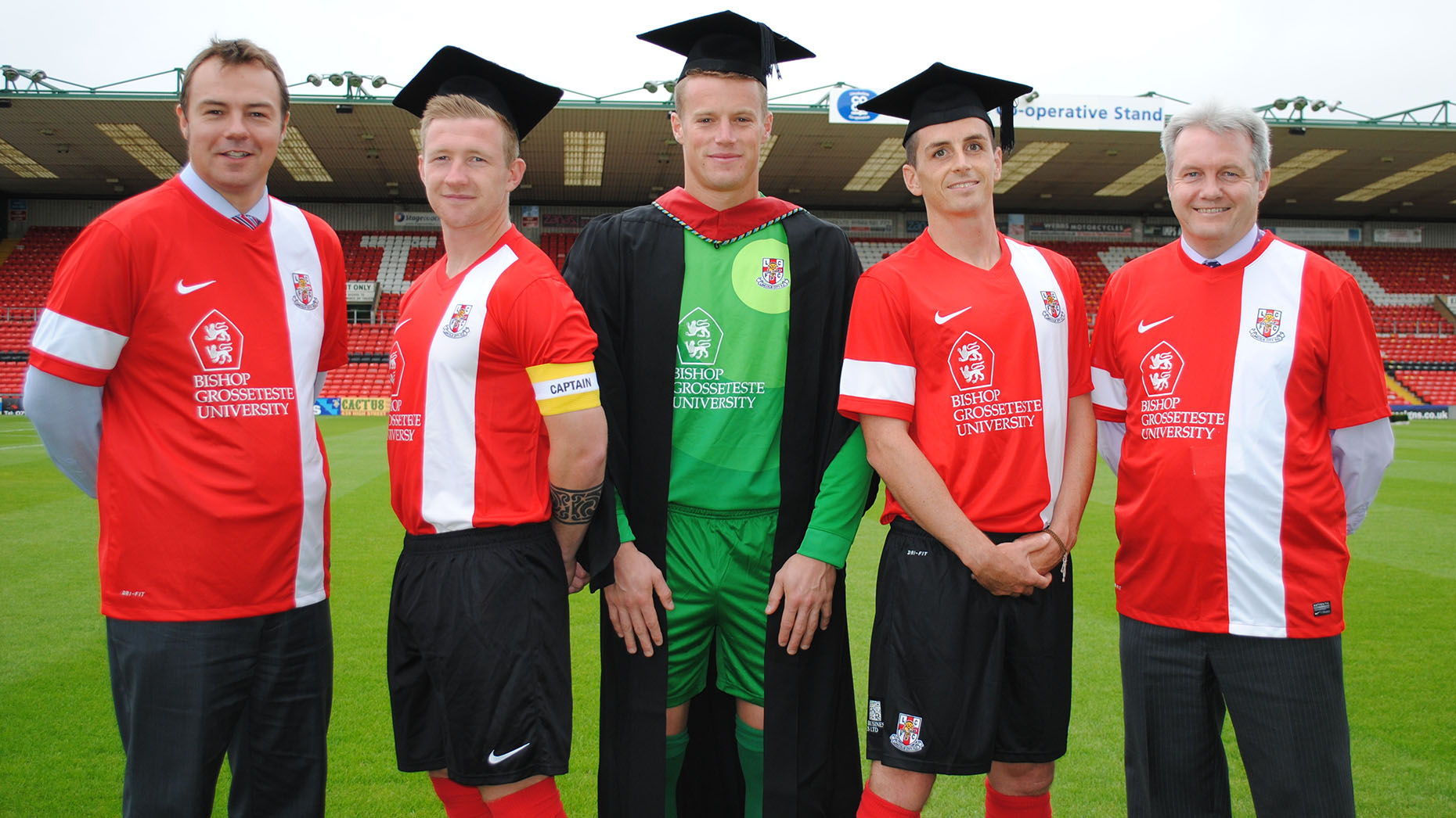 Lincoln City Fc Show Off New 2013 14 Home Kit