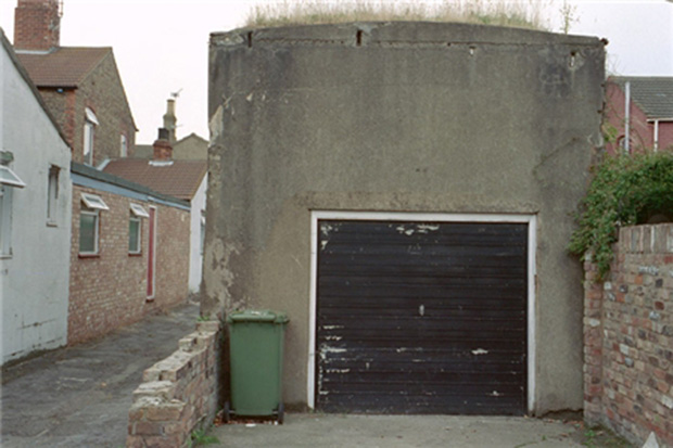 A Zeppelin air raid shelter in Cleethorpes, still standing today. Photo: English Heritage
