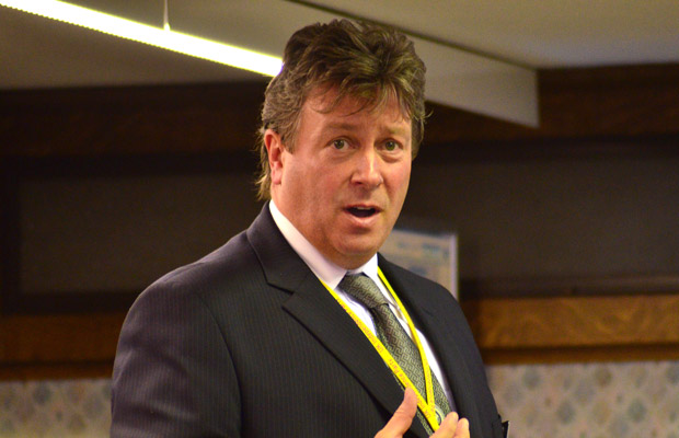 UKIP Councillor Chris Pain. Photo: Steve Smailes for The Lincolnite