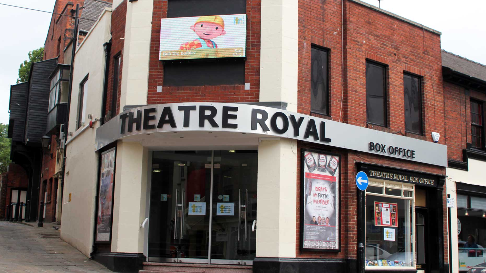 Lead flashing stolen from Lincoln Theatre Royal roof