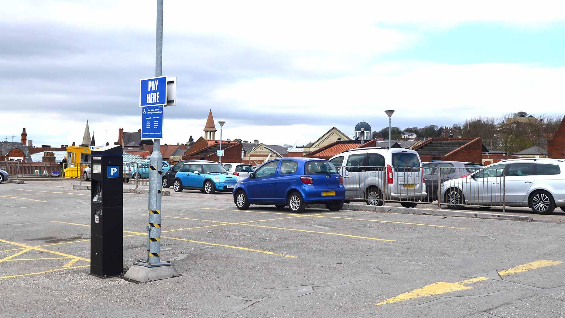 Westgate  Car Park Lincoln