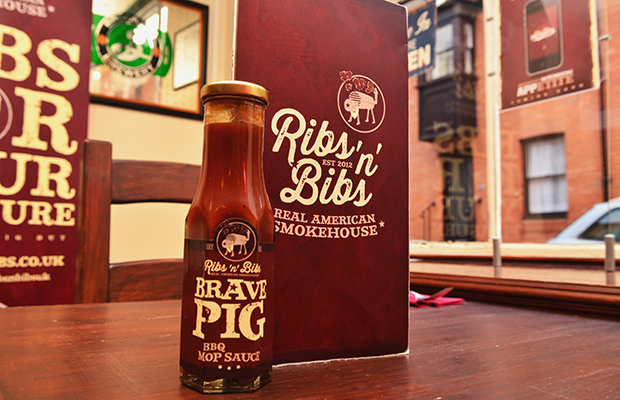Ribs 'n' Bibs Brave Sauce. Photo: Steve Smailes for The Lincolnite