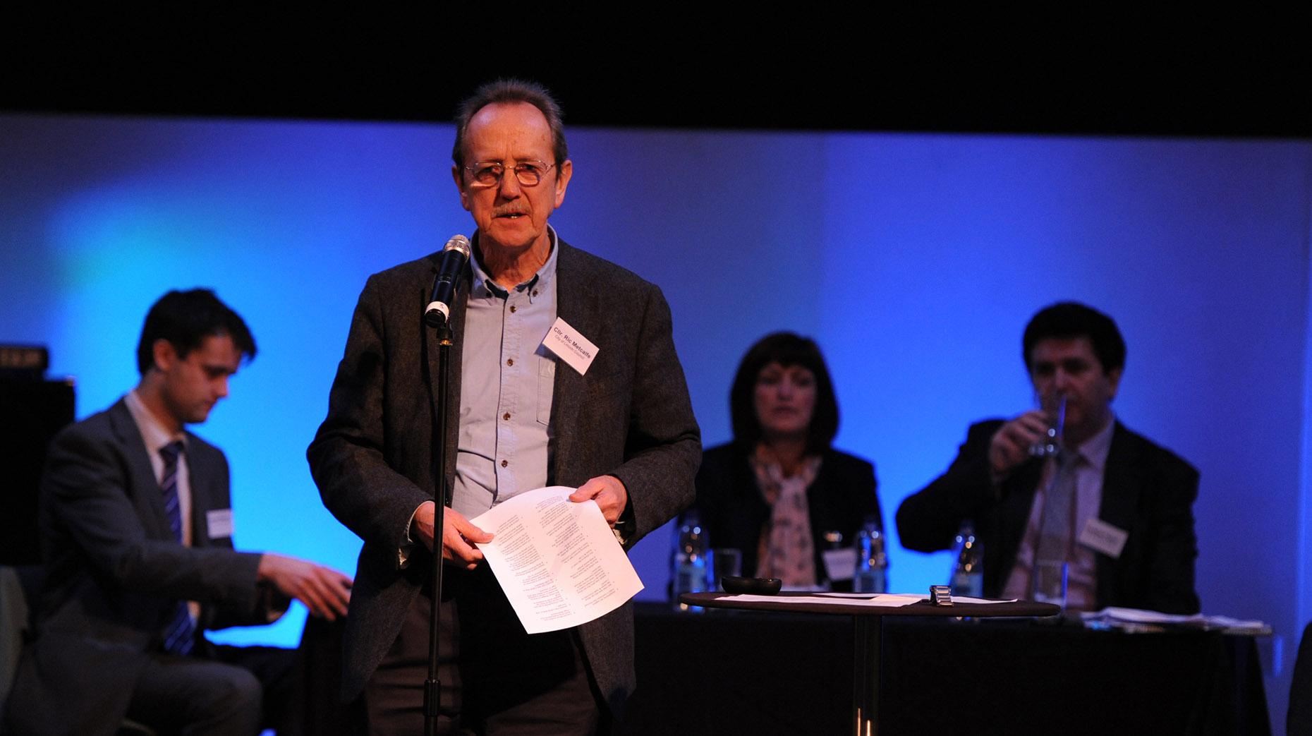 City Councillor and Council Leader Ric Metcalfe. Photo: Stuart Wilde