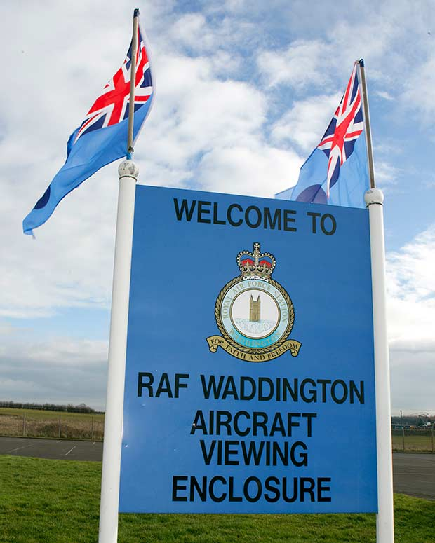 Photo: RAF Waddington