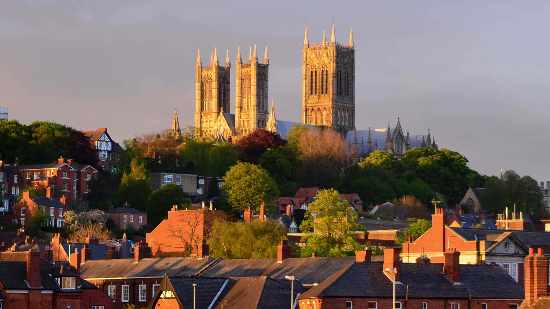Lincoln Cathedral basking in the sunshine. Photo: File/Lincolnshire Reporter