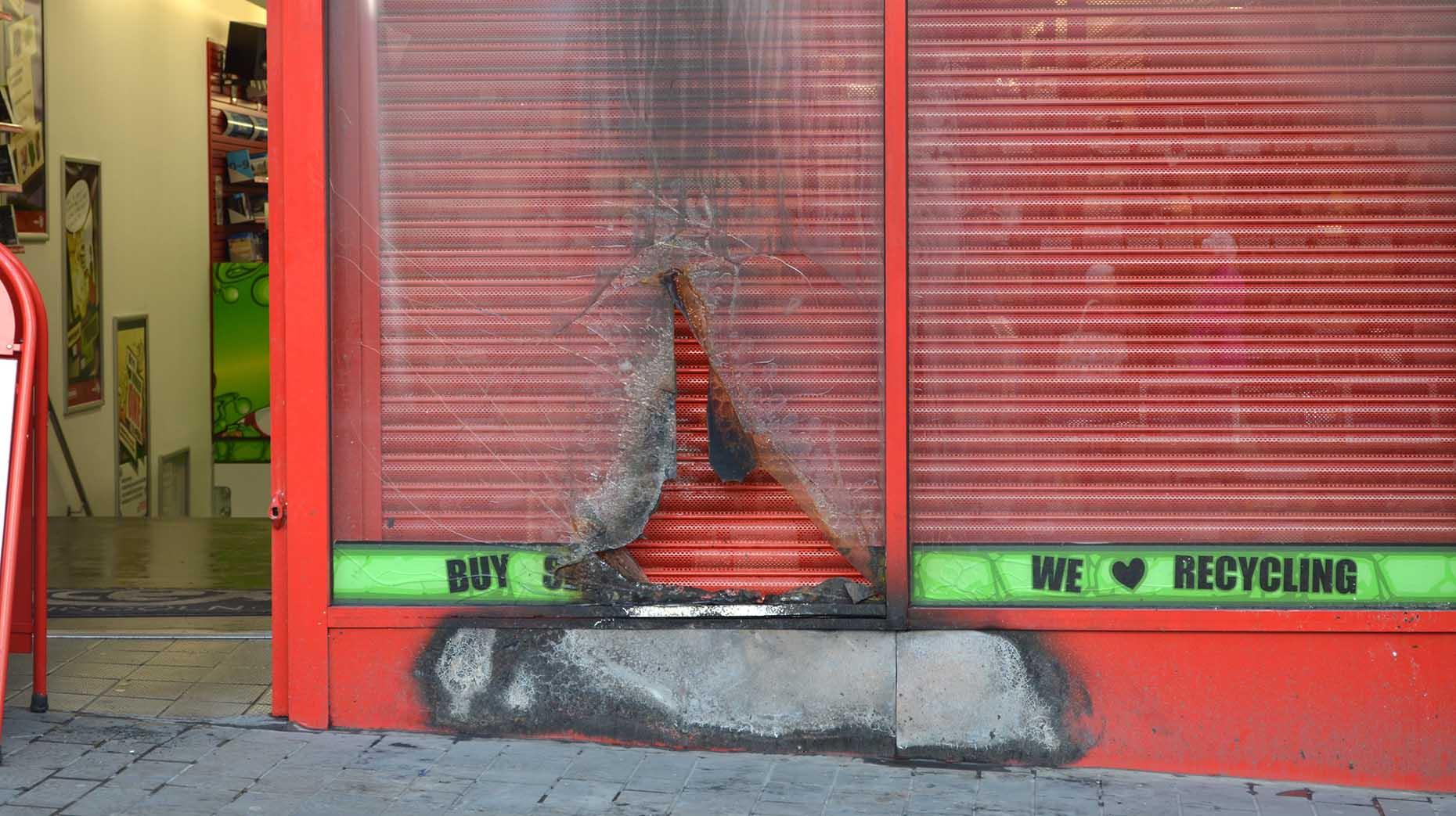 Lincoln Cex Shop Damaged By Deliberate Fire The Lincolnite