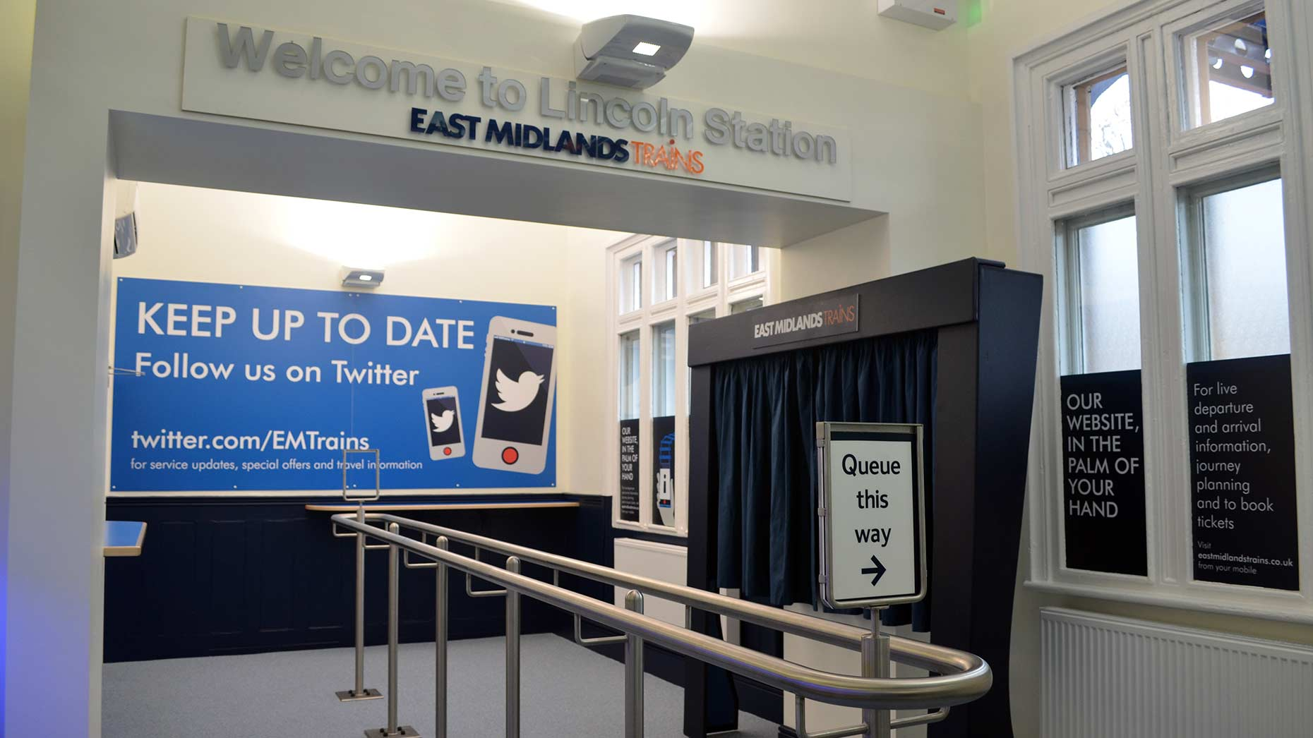 Revamped Lincoln Train Station Opens For Passengers The