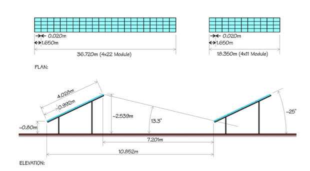 Solar panel designs by Lunar Energy.