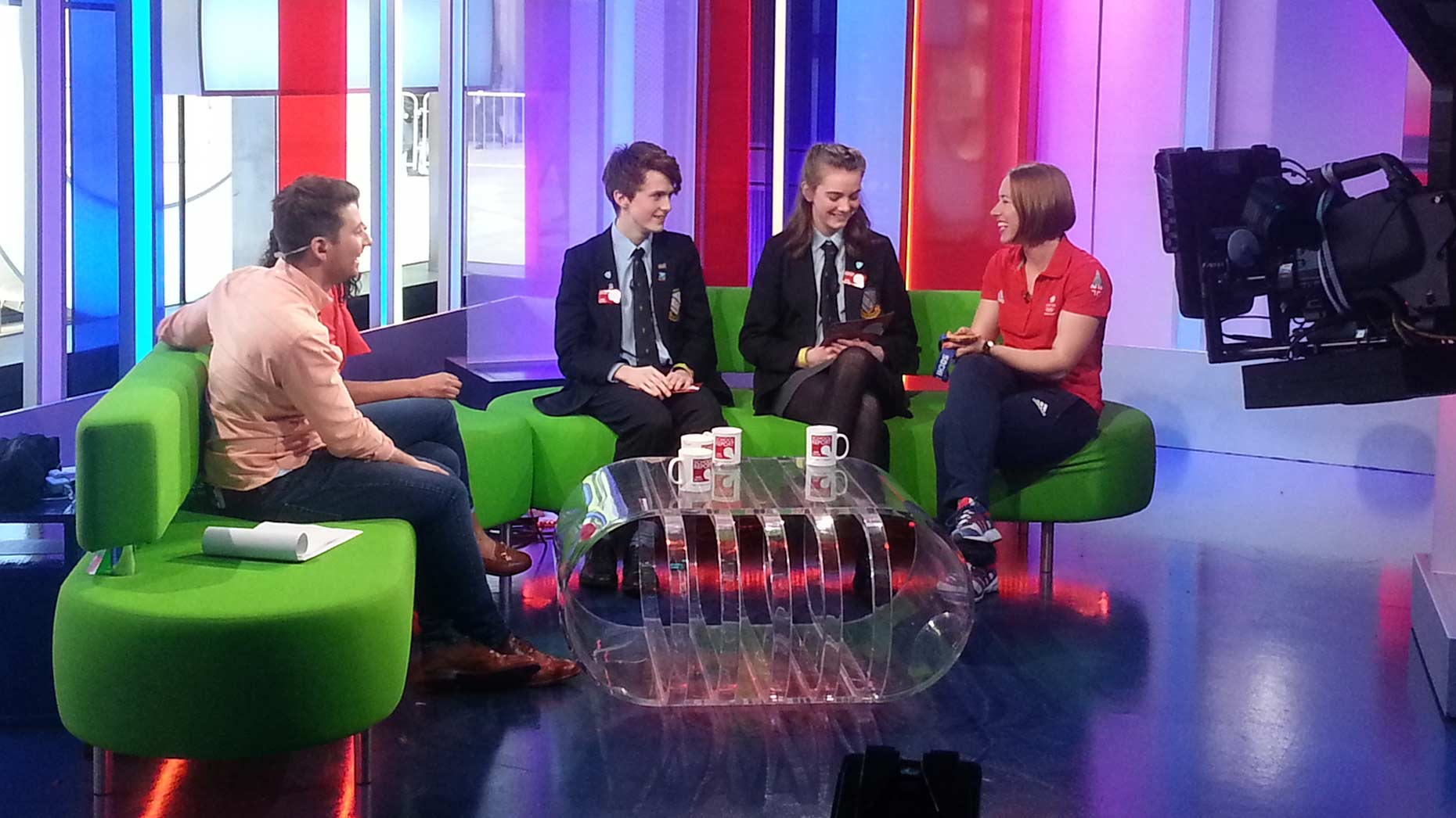 Lincoln School Pupils Appear On Bbc One Show