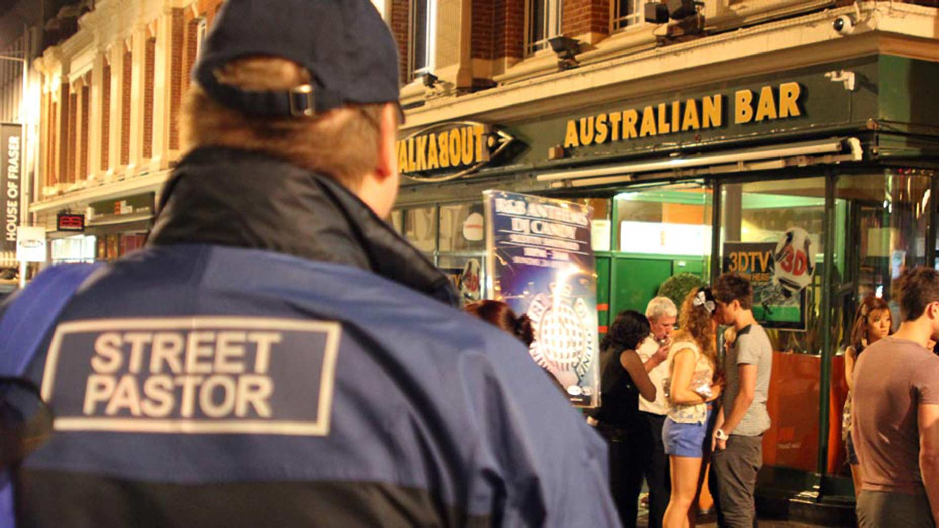 Lincoln Street Pastors are out on Friday and Saturday nights between 10.30pm and 4am.