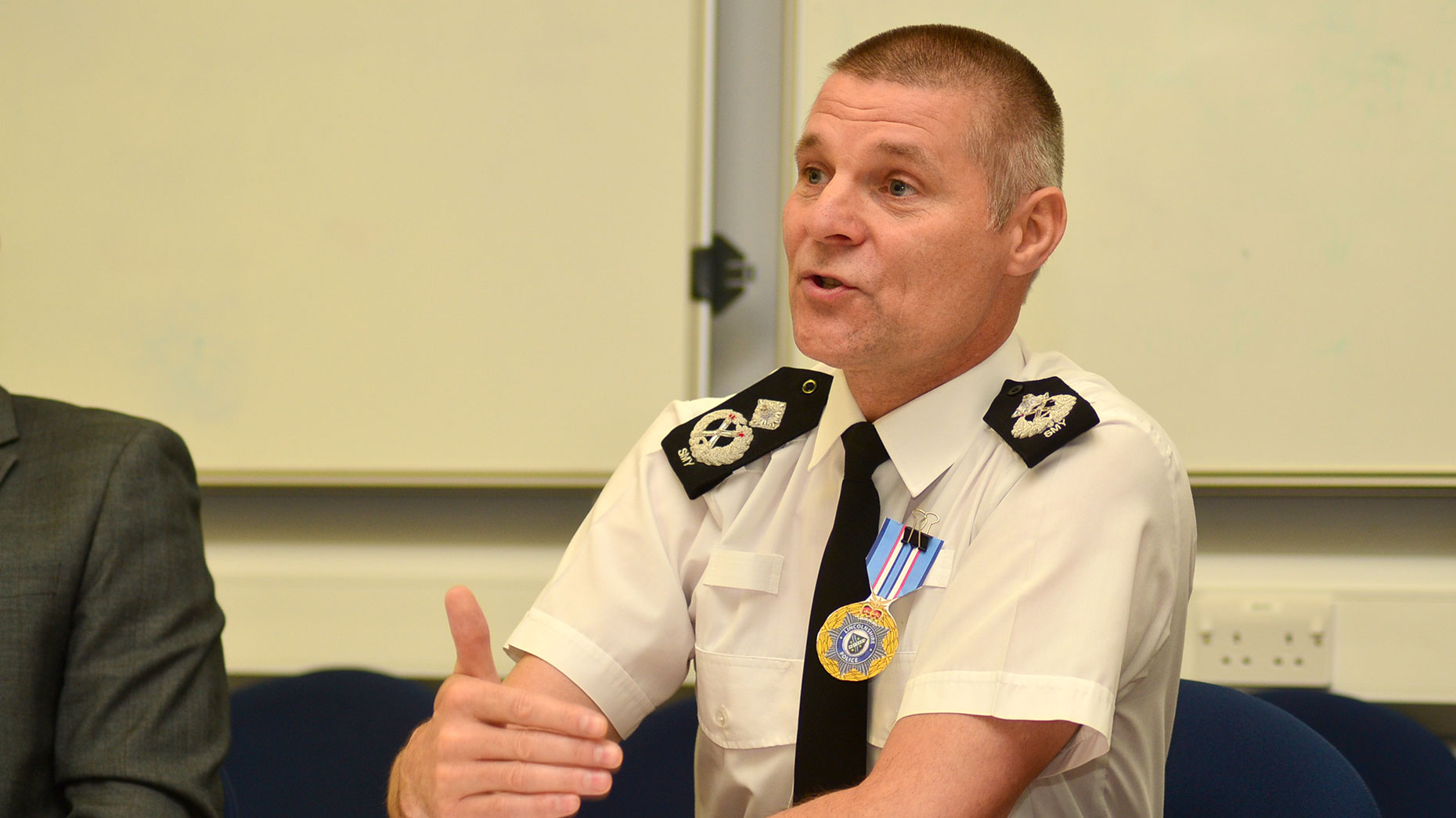 Keith Smy, Lincolnshire Police Deputy Chief Constable. Photo: Steve Smailes for The Lincolnite