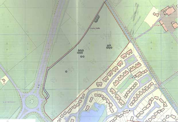 The proposed area affected. Photo: NKDC
