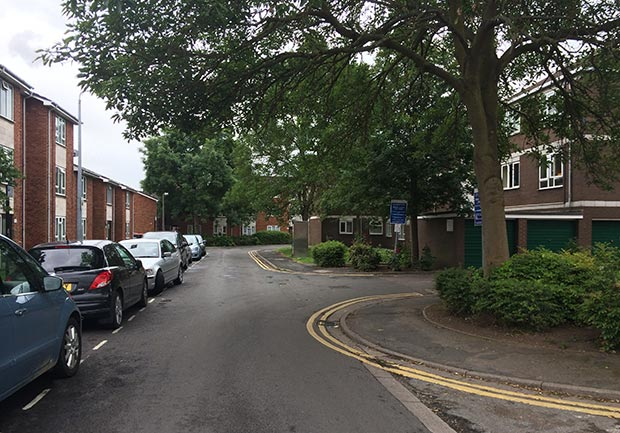 Hermit Street, off Portland Street in Lincoln. Photo: File/The Lincolnite
