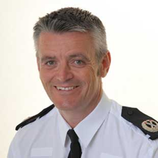 Lincolnshire Police Assistant Chief Constable Lee Freeman