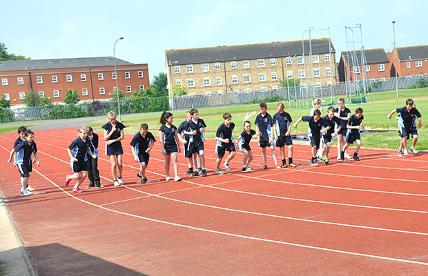 The Tryathlons focus on the 'try' element, encouraging all children to participate regardless of ability or experience.