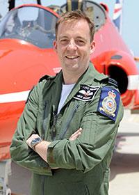 Flight Lieutenant Bowden.