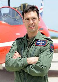 Flight Lieutenant Cox