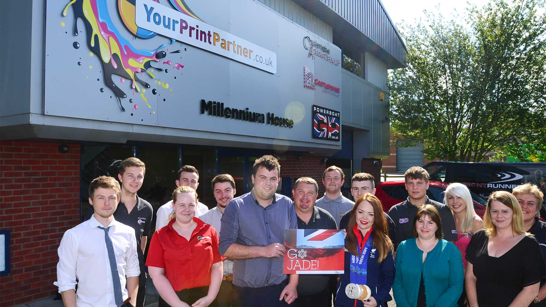Your Print Partner will continue to support young local talents. Photo: Steve Smailes for The Lincolnite