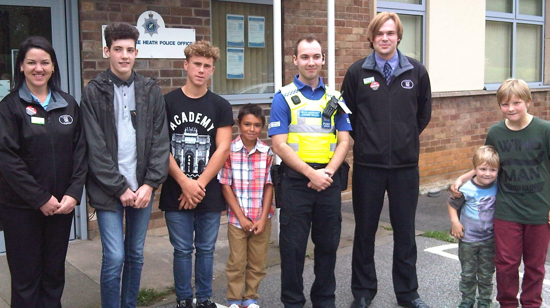 Bracebridge Heath Youths Promote Skatepark Benefits