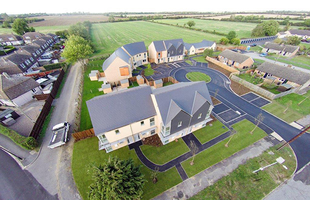 North Kesteven Council Completes First Curvy Houses