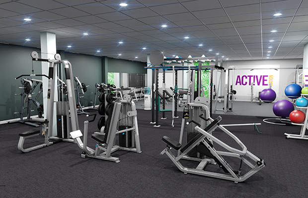 The gym will be relocated as part of the redevelopment.