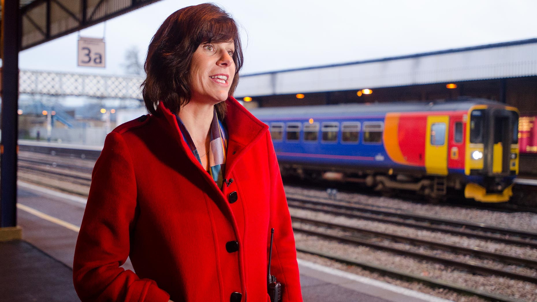 Rail Minister Claire Perry. Photo: Steve Smailes for The Lincolnite