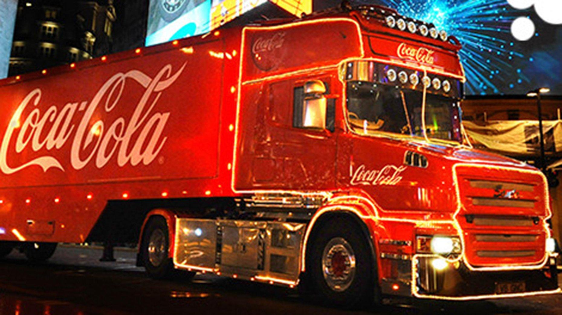 Coca Cola Christmas Truck To Make Lincoln Stop