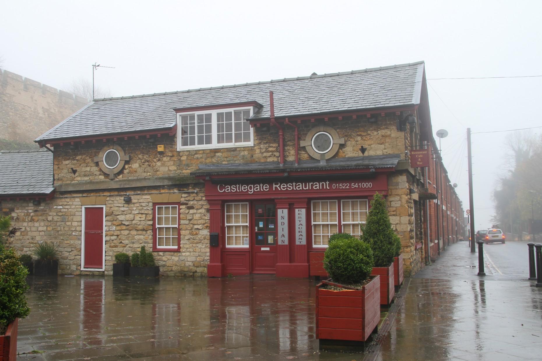 The former Castlegate restaurant in uphill Lincoln. Photo: The Lincolnite