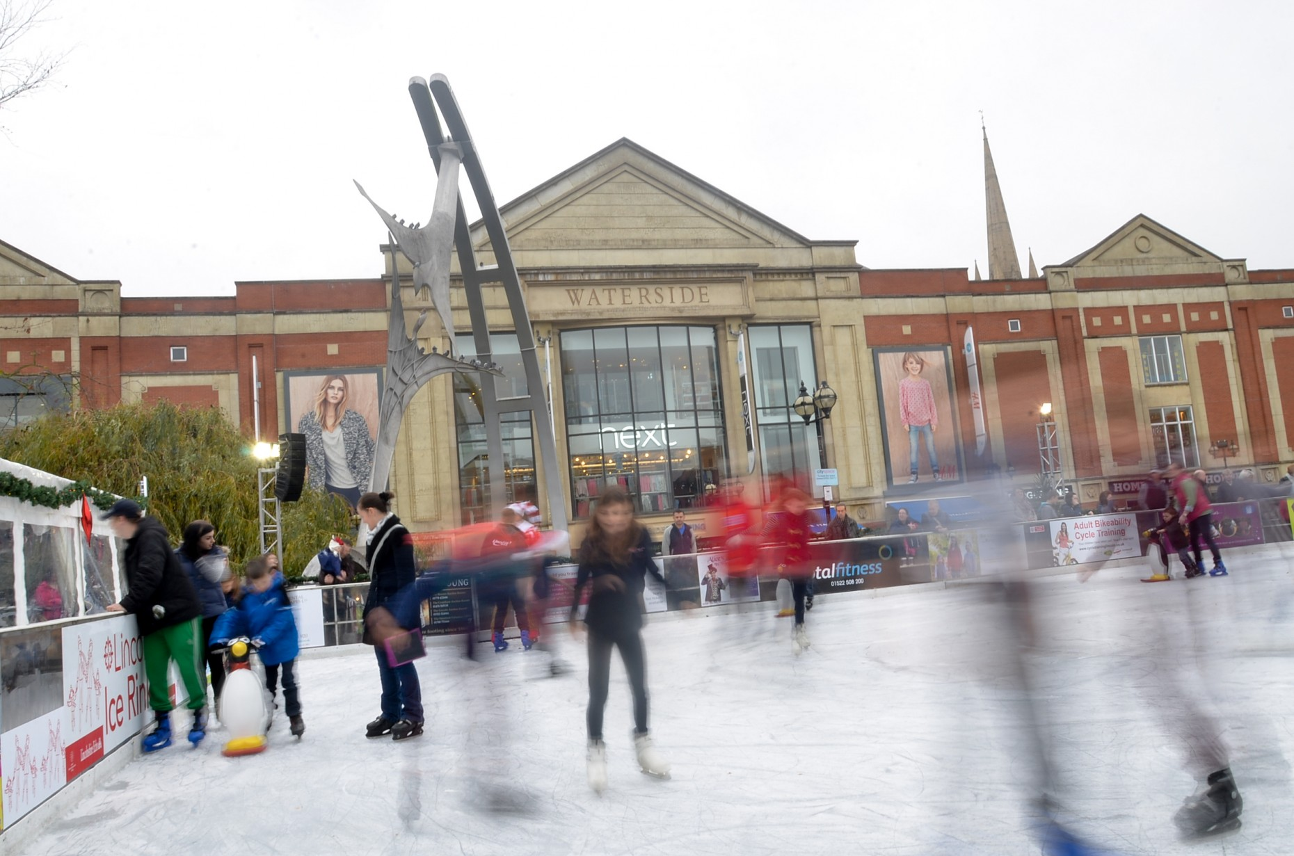 In Pictures The Lincoln Ice Rink Is Now Open