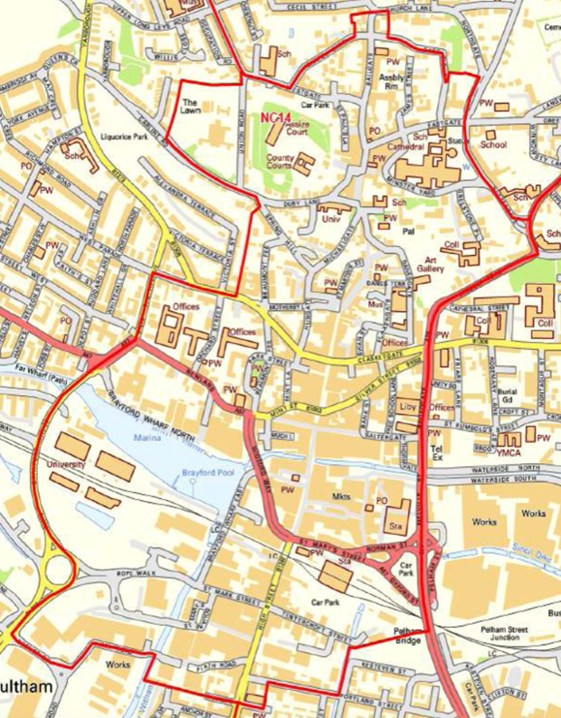 The Lincoln exclusion zone will allow uniformed officers to ban individuals from certain areas.