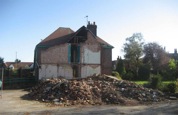 The site now at 111 Nettleham Road.